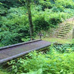 羽州街道 矢立峠 歴史の道